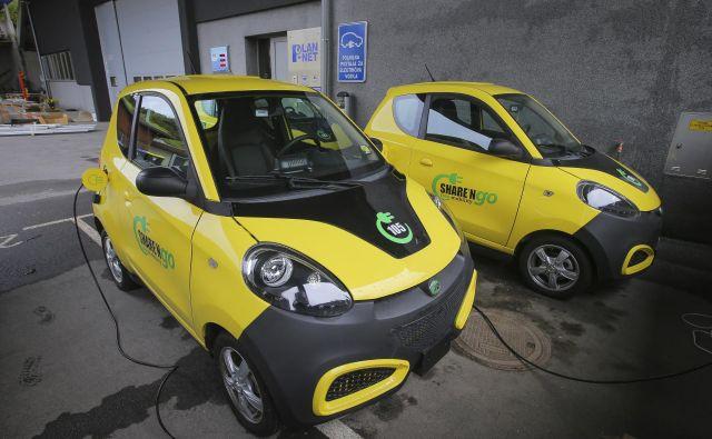 Kitajski avti niso tako poskočni kot je to običajno pri električnih avtih FOTO. Jože Suhadolnik