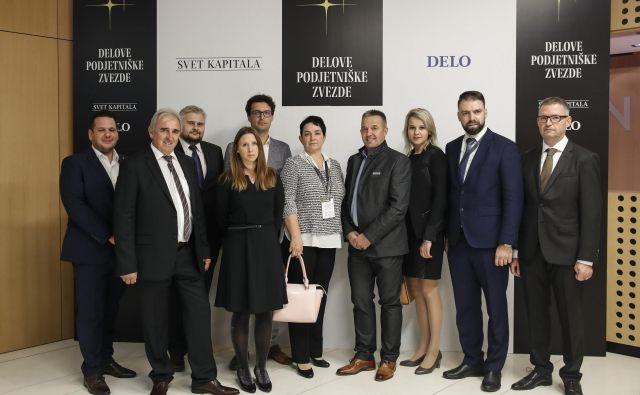 Lanskoletni nominiranci za Delovo podjetniško zvezdo na Brdu pri Kranju. FOTO: Uroš Hočevar