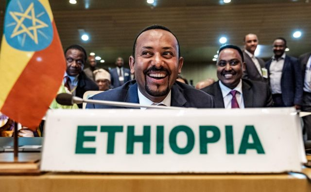 Sprava z Eritrejo je bila eden od prvih projektov Abiya Ahmeda. FOTO: AFP