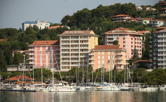 V kompleksu hotelov v Portorožu je avstrijski Novomatic kupil Casino Riviera. Avstrijci kupujejo salone kot po tekočem traku. FOTO: Jure Eržen/Delo