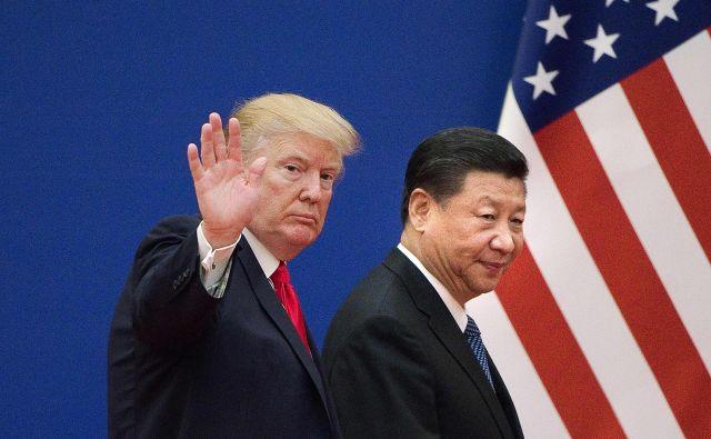 Tako kot kitajski predsednik Xi Jinping tudi Donald Trump potrebuje dobre novice za utrditev svojega političnega položaja. Foto: Nicolas Asfouri/Afp
