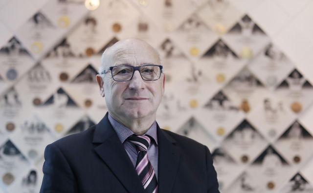 Predsednik OKS Bogdan Gabrovec se izogiba napovedovanju kolajn za OI 2020 v Tokiu. FOTO: Leon Vidic