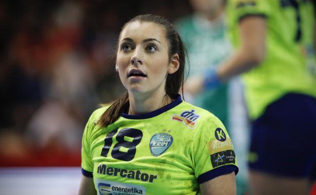 Nina Zulić je bila izbrana za igralko tekme. FOTO: Uroš Hočevar