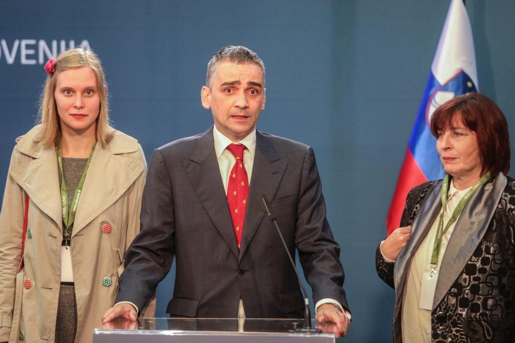 Bernard Bršičič edini kandidat, Lucija Šikovec Ušaj izstopila iz stranke