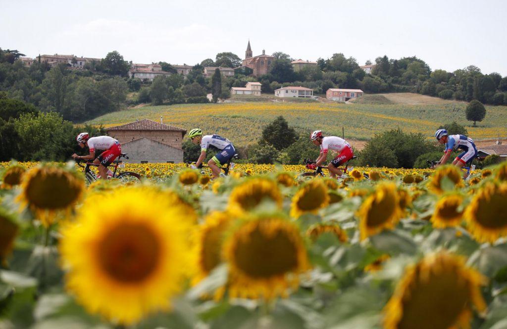 Sporočilnost največjih kolesarskih dirk