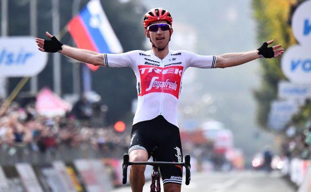Bauke Mollema je presenetil Rogliča. Foto: AFP