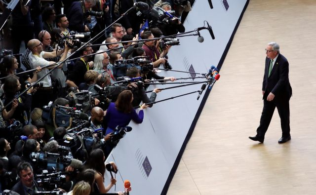 Jean-Claude Juncker je svojo komisijo označil za komisijo »zadnje priložnosti«. Foto: Reuters