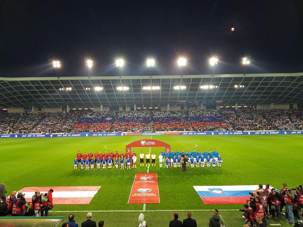 FOTO:Avstrija razblinila slovenska upanja o evropskem prvenstvu