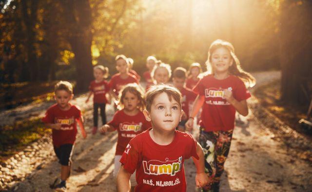 Otroci se bodo pomerili na Lumpi teku. FOTO: Mercator