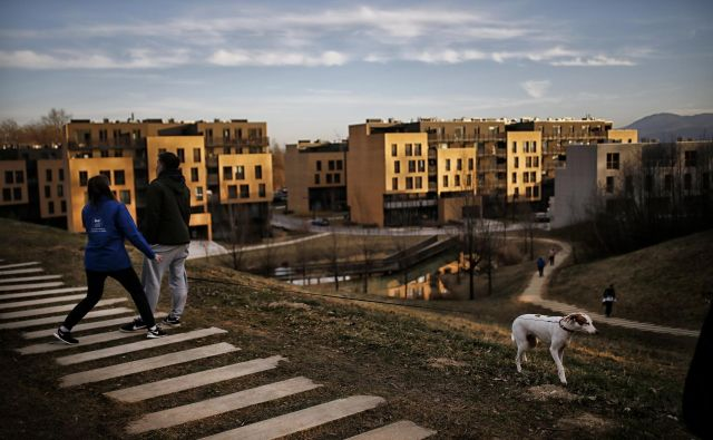 Do stanovanj naj bi, če bo predlagan zakon zaživel, lažje dostopali zlasti ranljive skupine, od mladih do socialno ogroženih. FOTO: Blaž Samec/Delo