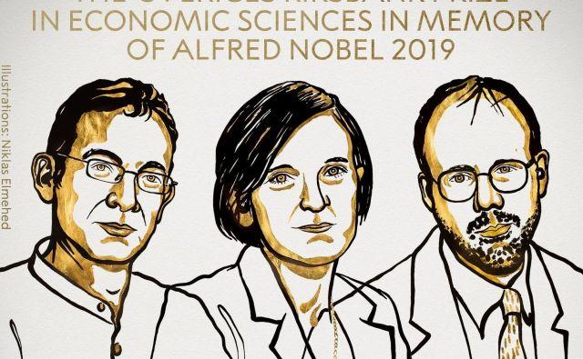 Nagrajenci za ekonomijo. FOTO: www.nobelprize.org