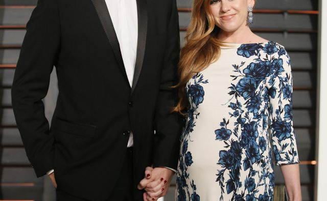 Sasha Baron Cohen in Isla Fisher imata za seboj devet let zakona, v katerem so se jima rodili trije otroci. FOTO: Reuters