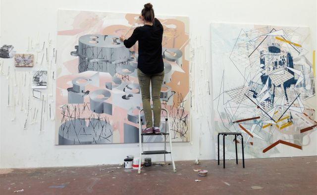 Suzana Brborović je med mlajšimi slikarji in slikarkami ena od najbolj izvirnih. FOTO: Sloart