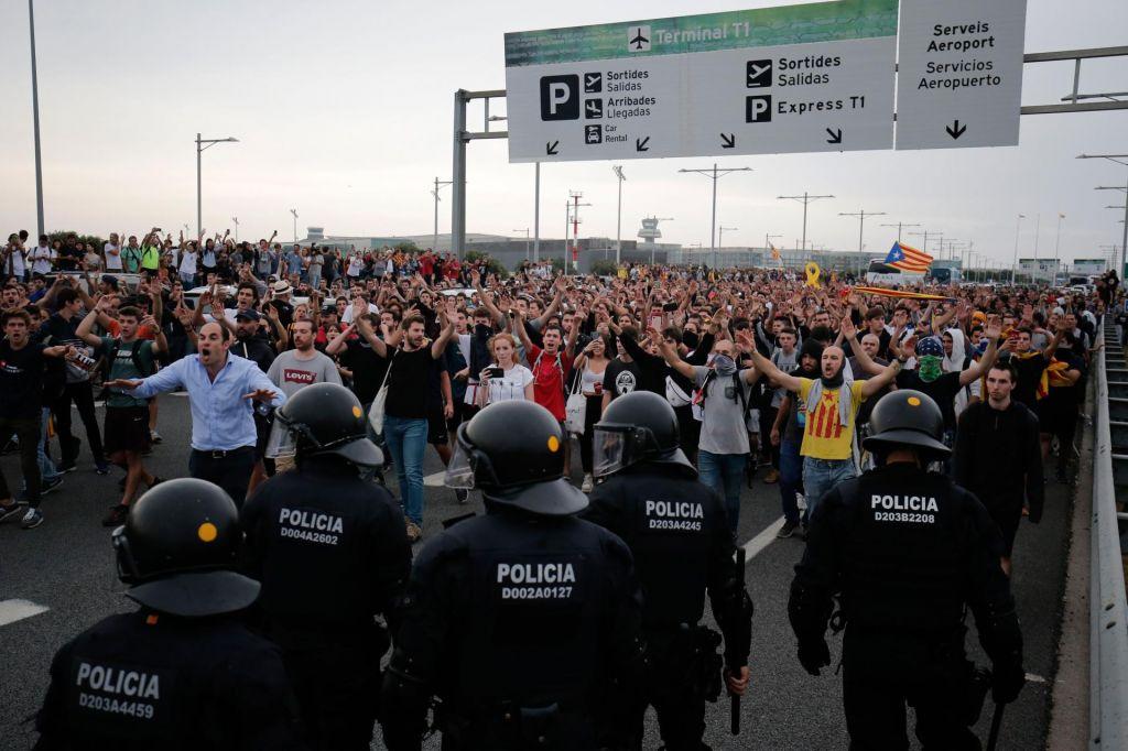 FOTO:Krepka lekcija Kataloniji