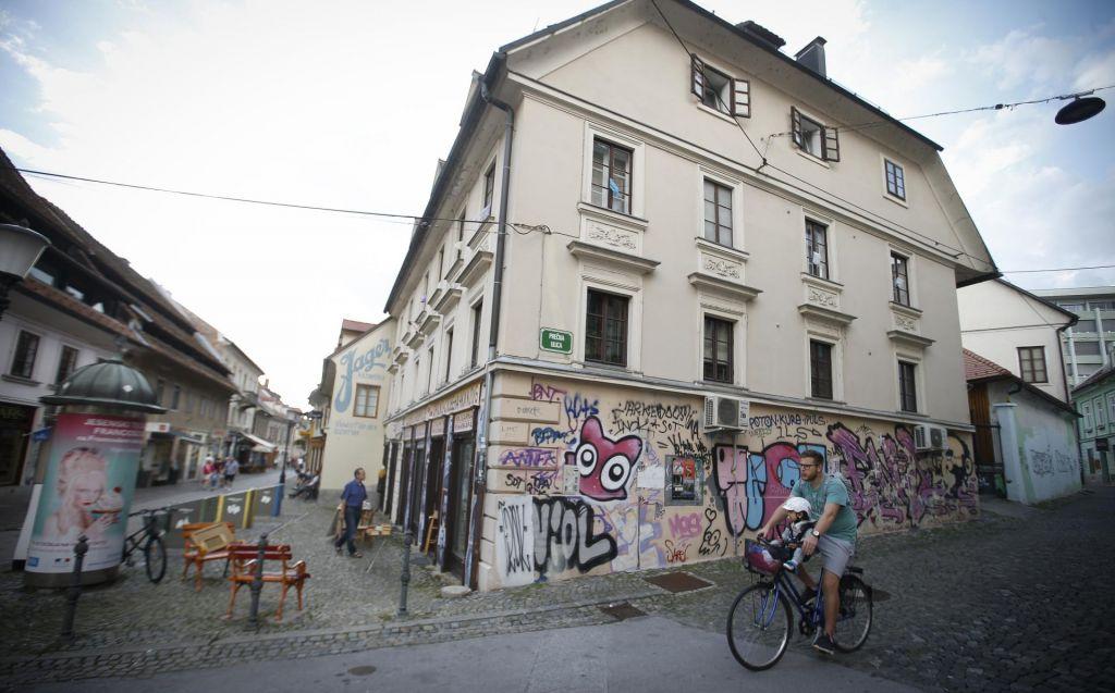 Norišnica sredi Ljubljane