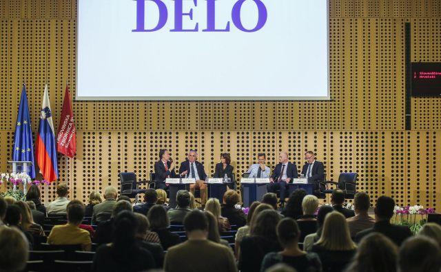 Strateška konferenca o trgovini je nakazala smeri razvoja te panoge. FOTO Jože Suhadolnik/Delo