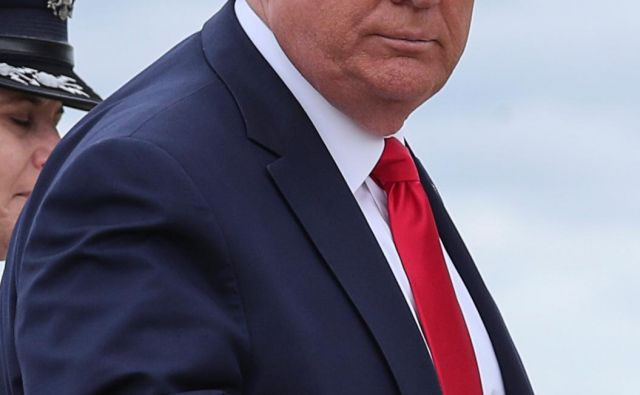Trump misli, da vedno tvita prav.<br /> FOTO: Reuters