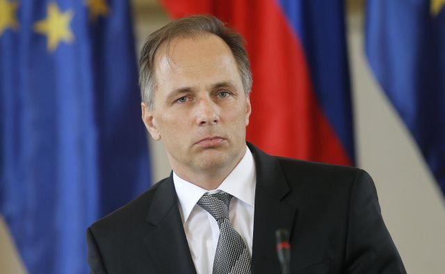 Predsednik ustavnega sodišča je prepričan, da ni razlogov za odstop Mateja Accetta. FOTO: Blaž Samec/Delo