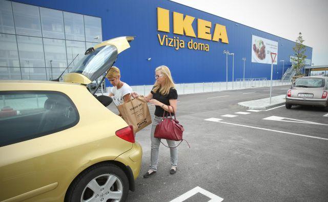 Fotografija Ikee v Zagrebu. FOTO: Jure Eržen/Delo