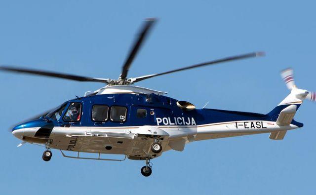 Nov policijski helikopter. FOTO: Policija