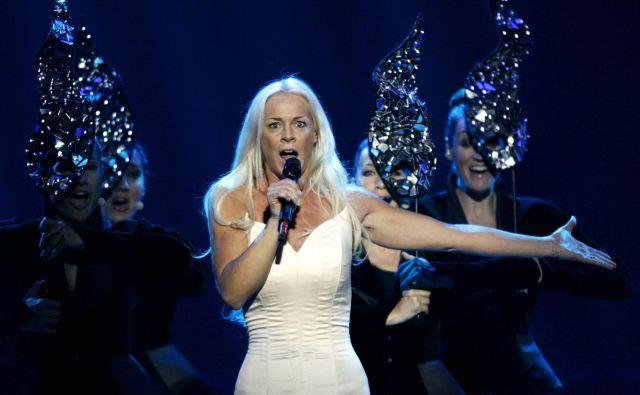 Mati globalne ikone boja proti podnebnim spremembam je med drugim zastopala Švedsko na pesmi Evrovizije leta 2009. FOTO: Reuters