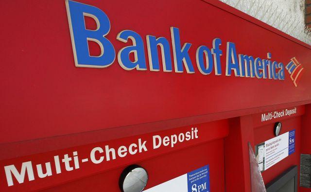 Bank of America zdaj ne poskuša povečati dobička z zniževanjem stroškov in enkak trend je opaziti pri drugih ameriških bankah. Foto Reuters