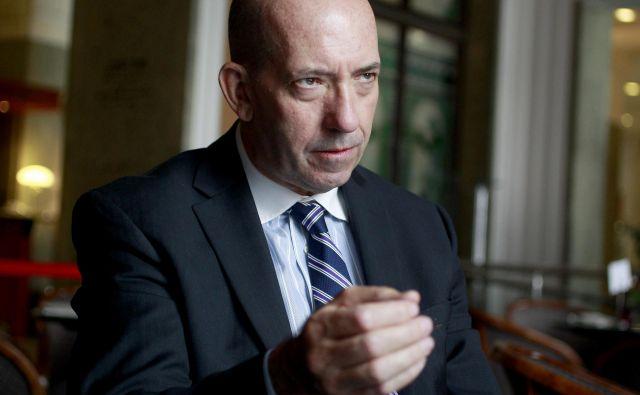 Peter Mulroy, generalni sekretar FCI, pričakuje, da bo njegova organizacija v Sloveniji kmalu imela pet članic.<br /> Foto Roman Šipić