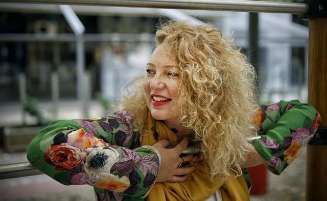 Emilia Martensson bo prvič nastopila z big bandom. Foto Blaž Samec