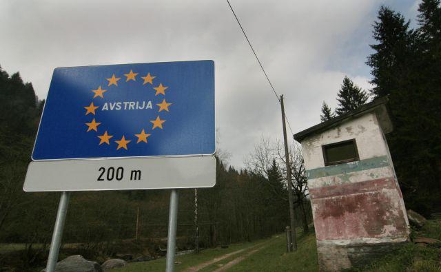 Muta bo prva slovenska občina, ki bo pri preskrbi s pitno vodo na svojo željo odvisna od Republike Avstrije. Do vodnega zajetja na tujem jo loči le nekaj metrov. FOTO: Jože Suhadolnik