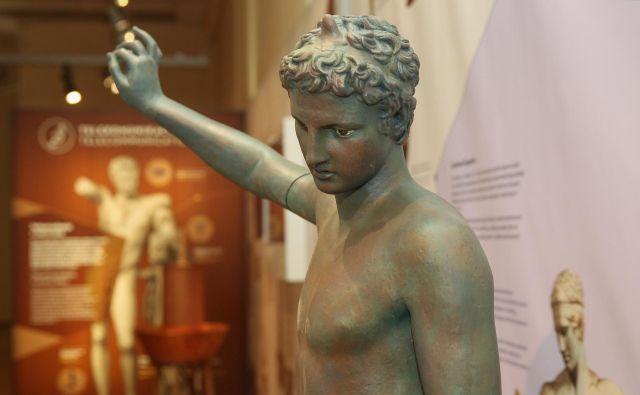 Cankarjev dom prireja poučno razstavo na temo stare Grčije. FOTO: Cankarjev Dom