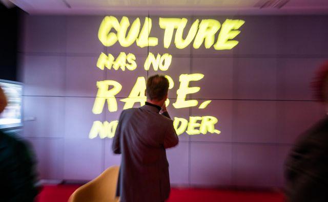 Norveška kot častna gostja sejma je na prvi predstavitvi poudarila, da so poleg knjig in kulture pomembna tudi kulturna zavezništva.<br /> Foto © Bernd Hartung/Frankfurter Buchmesse