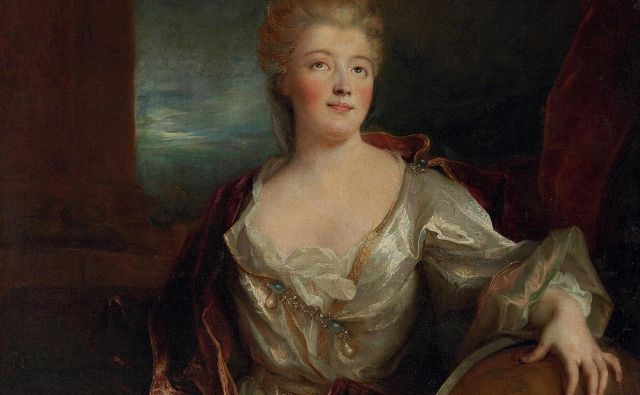 Émilie du Châtelet je bila inteligentna sila življenja in strasti.<br /> Foto Wikipedia