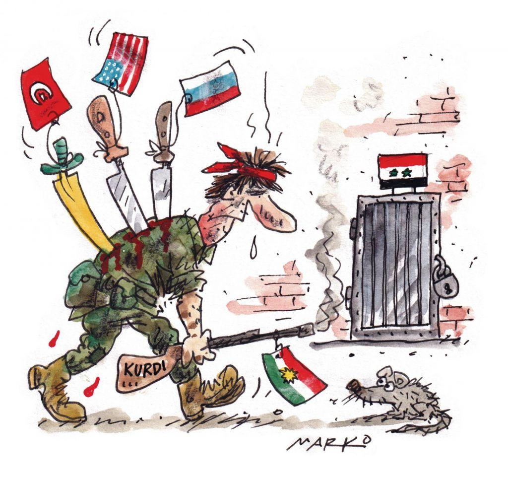 Geostrateški inženiring na kurdski račun