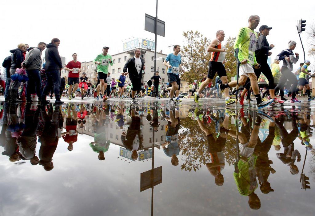 Maraton povzroča vojno v glavi