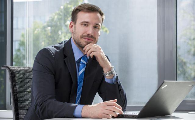 Gregor Skender, menedžer, Deloitte svetovanje FOTO: Deloitte