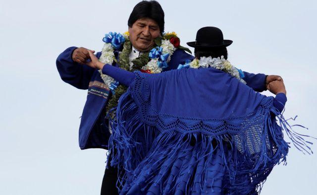 Kritiki Evu Moralesu med drugim očitajo samodrštvo. FOTO: Reuters
