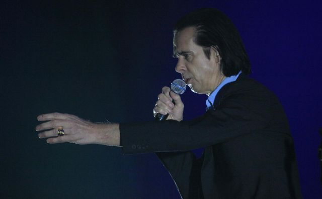 Nick Cave and the Bad Seeds so nazadnje nastopili v Ljubljani jeseni 2017.<br /> Foto Mavric Pivk
