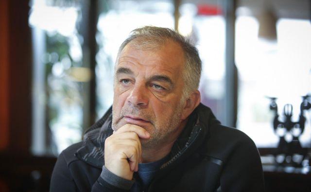 Matjaž Kopitar se je po štirih letih vrnil k slovenski reprezentanci, s katero si je vnovič začrtal visoke cilje. FOTO Jože Suhadolnik/Delo