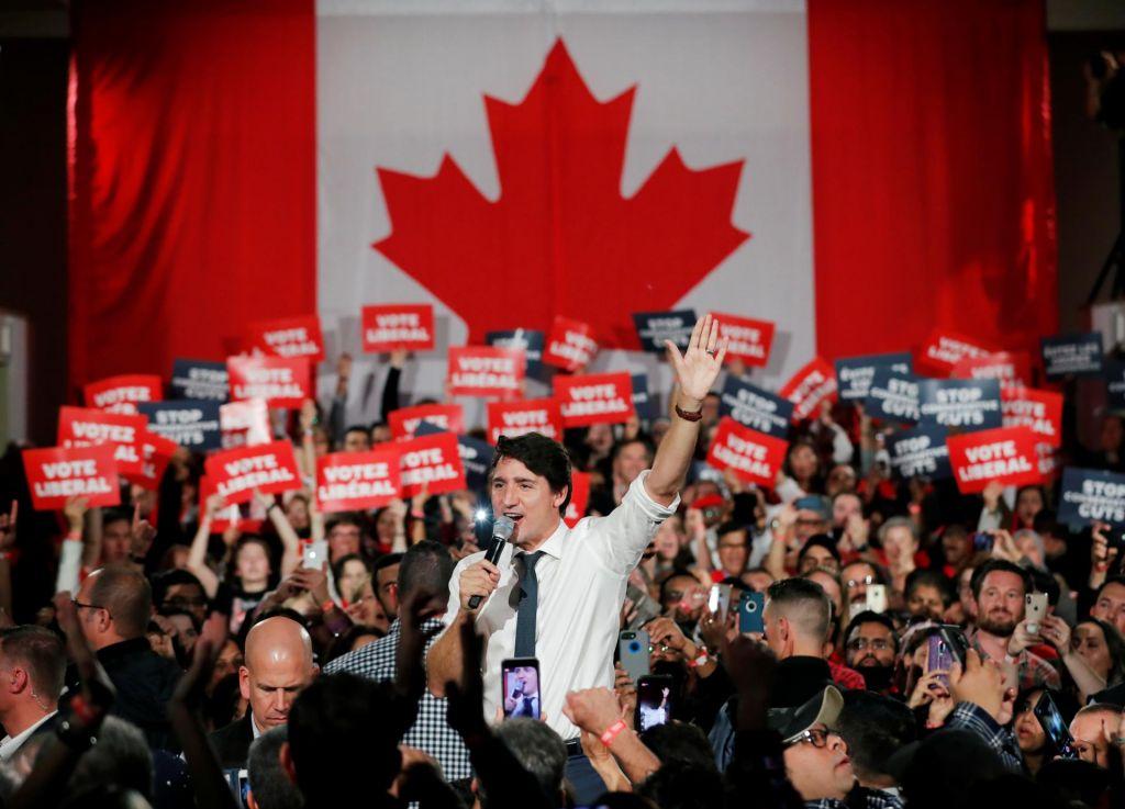 Oslabela čarovnija Justina Trudeauja