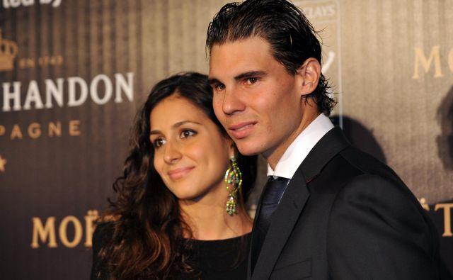 Rafael Nadal in Maria Xisca Perello sta si danes obljubila večno zvestobo. FOTO: Action Images