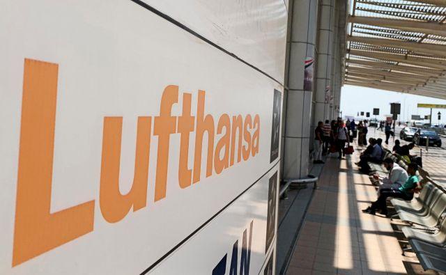 Lufthansa je sicer stavko v hčerinskih podjetjih označila za nezakonito. FOTO: Mohamed Abd El Ghany/Reuters
