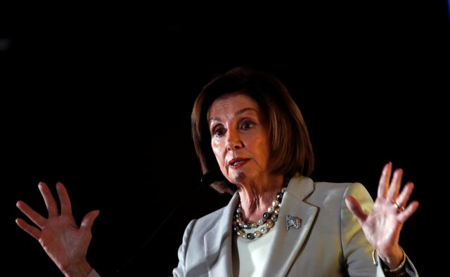 Predsednica predstavniškega doma Nancy Pelosi. Foto Carlos Jasso Reuters