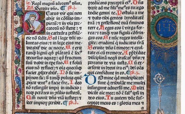 Breviarium Aquileiense oziroma Breviarium Patriarchale, Benetke: Franciscus (Franz) Renner, de Heilbronn, leta 1481. FOTO: Narodna galerija