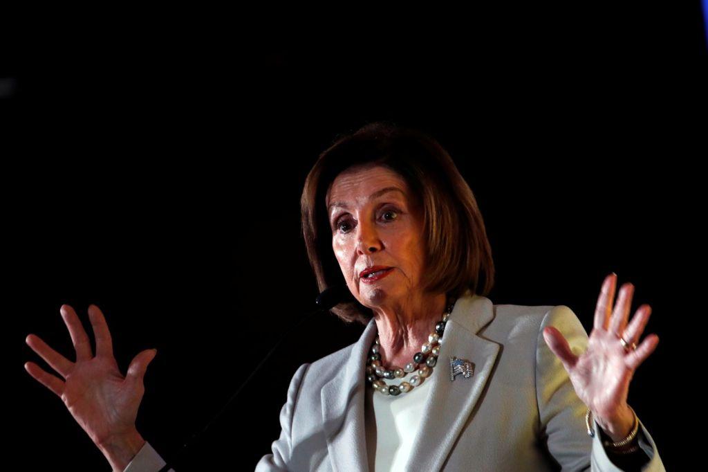 FOTO:Nancy Pelosi že vpliva tudi na ameriško bližnjevzhodno politiko