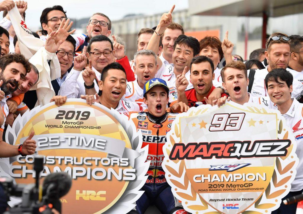 Marc Marquez si je že desetič letos pokoril konkurenco