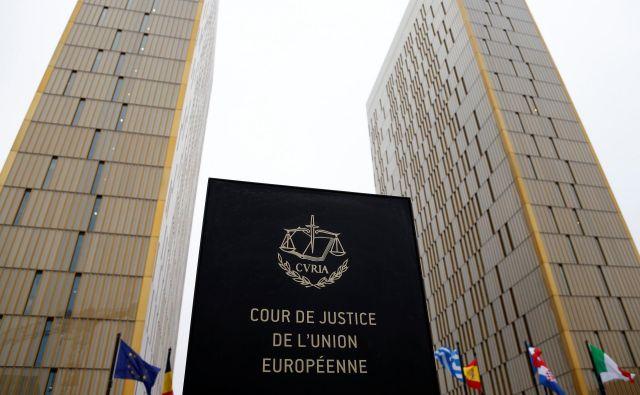 Na finančnem ministrstvu pričakujejo, da bo Sodišče EU odločitev sprejelo prihodnje leto. FOTO: Reuters