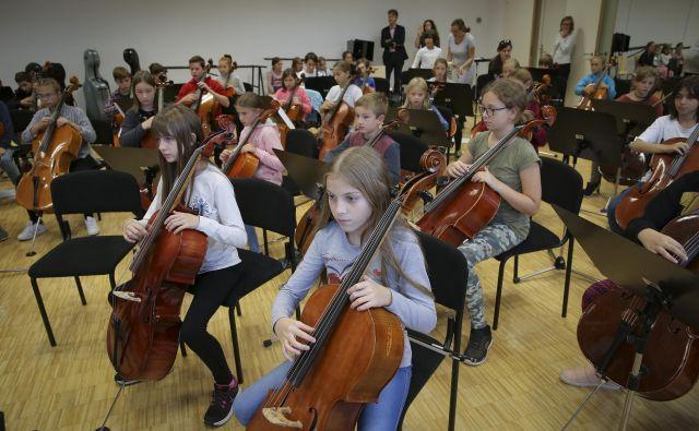 Udeleženci so bili stari od pet do 14 let, največ pa je bilo tistih med 10 in 12 leti. FOTO: Jože Suhadolnik