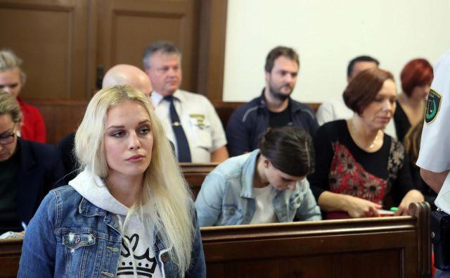 Adlešičevi in njenemu partnerju Abramovu grozi do osem let zapora. FOTO: Igor Mali