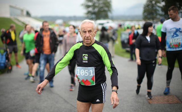 <strong>Miroslav Rant</strong> se je s tekom začel ukvarjati šele ob abrahamu. FOTO: Jure Eržen/Delo