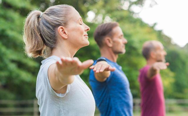 Ni nujno, da dvigujemo uteži, vadba za mišice je lahko tudi z lastno težo, pomembno je predvsem, da dosežemo vadbeni dražljaj. Foto: Shutterstock